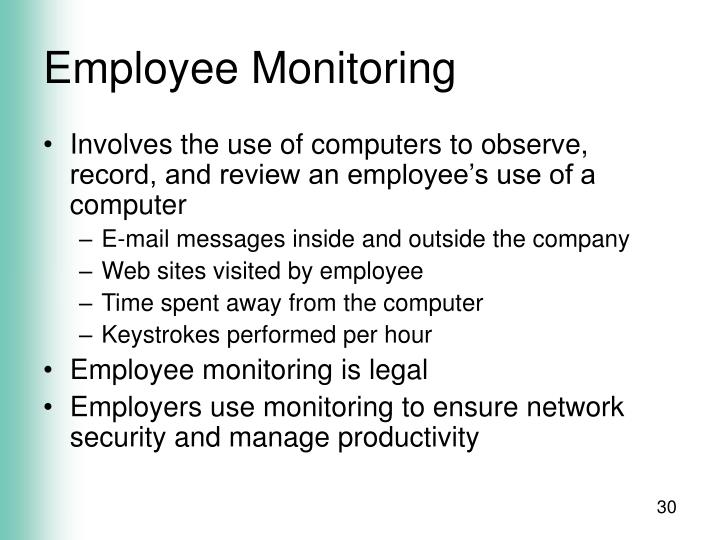 Employee Monitoring