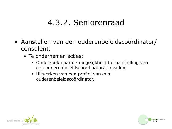 4.3.2. Seniorenraad