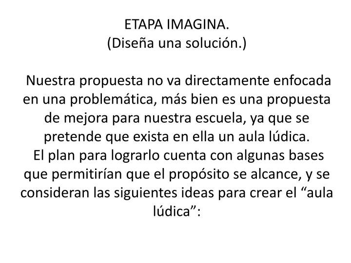 ETAPA IMAGINA.