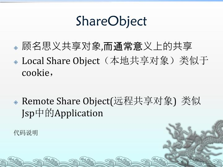 ShareObject