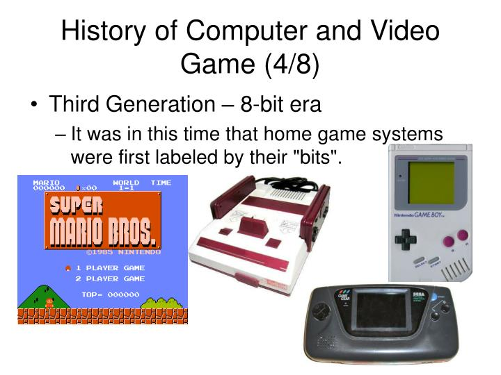 History of Computer and Video Game (4/8)