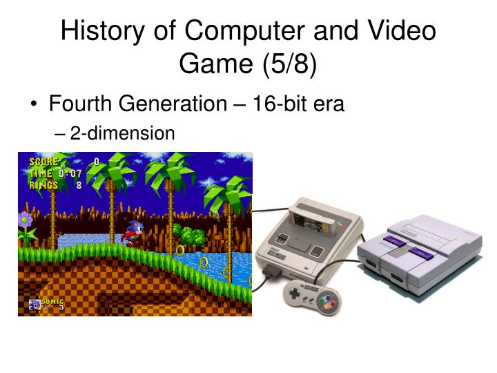 History of Computer and Video Game (5/8)