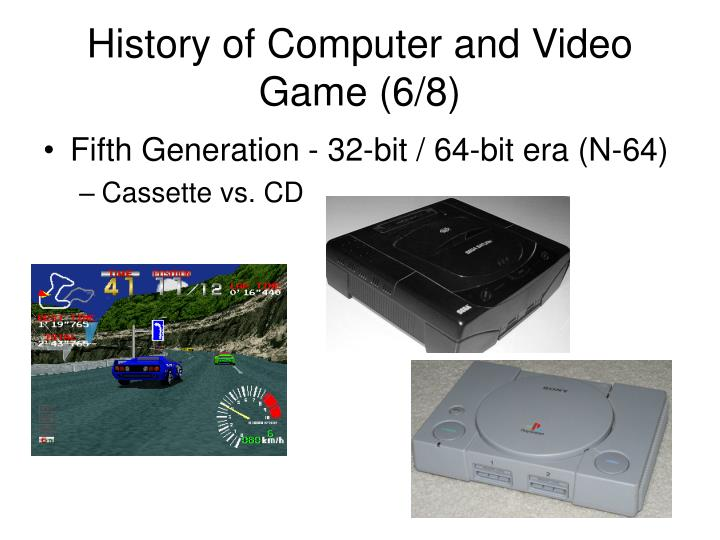 History of Computer and Video Game (6/8)