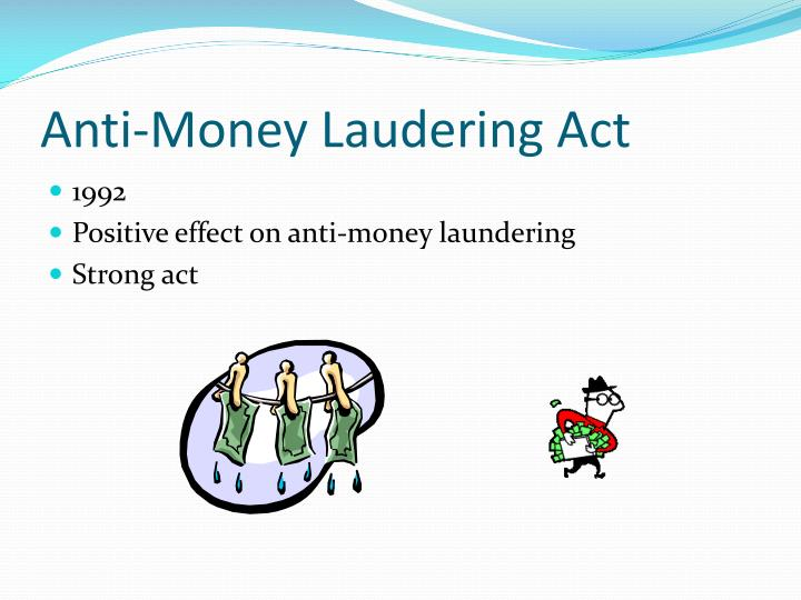Anti-Money Laudering Act