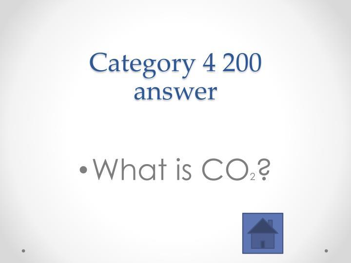 Category 4 200