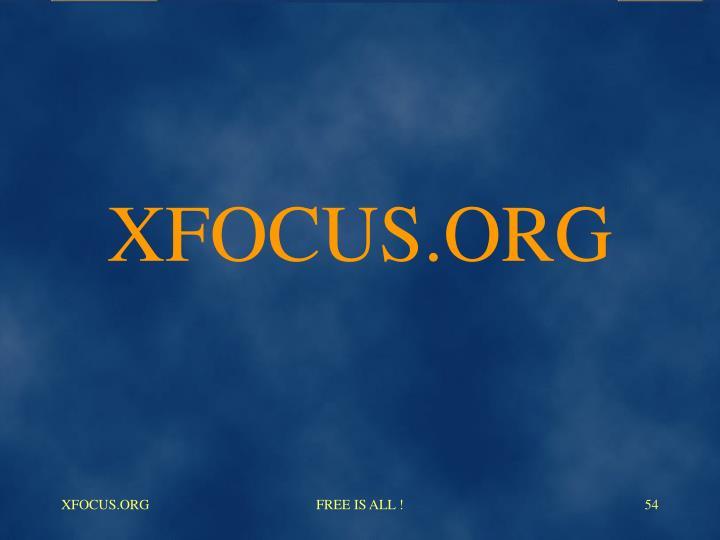 XFOCUS.ORG