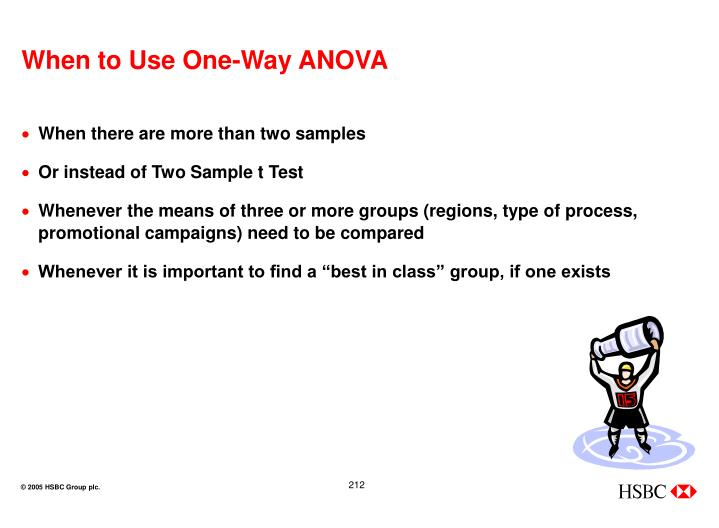 When to Use One-Way ANOVA