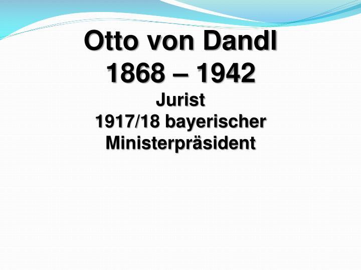 Otto von Dandl