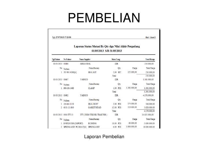 PEMBELIAN