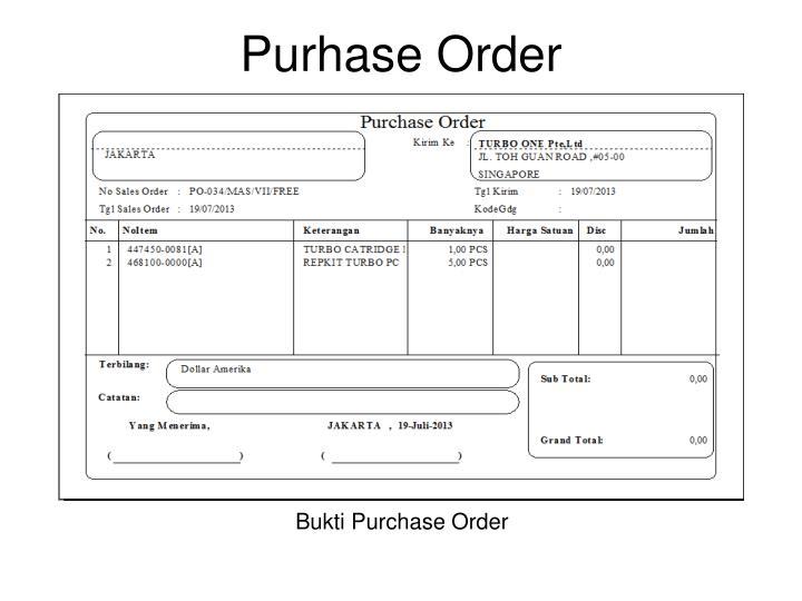 Purhase Order