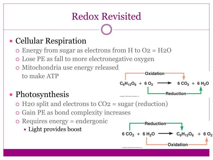 Redox Revisited