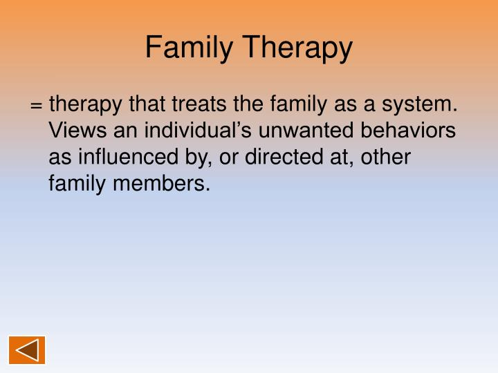 Family Therapy