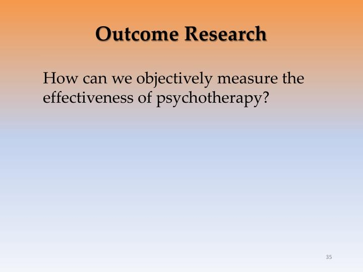 Outcome Research