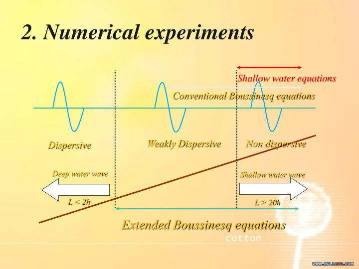 2. Numerical experiments