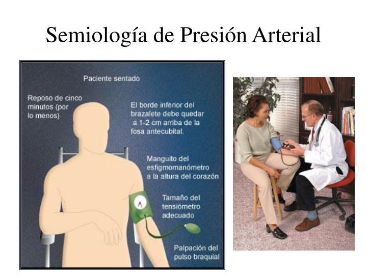 Semiología de Presión Arterial