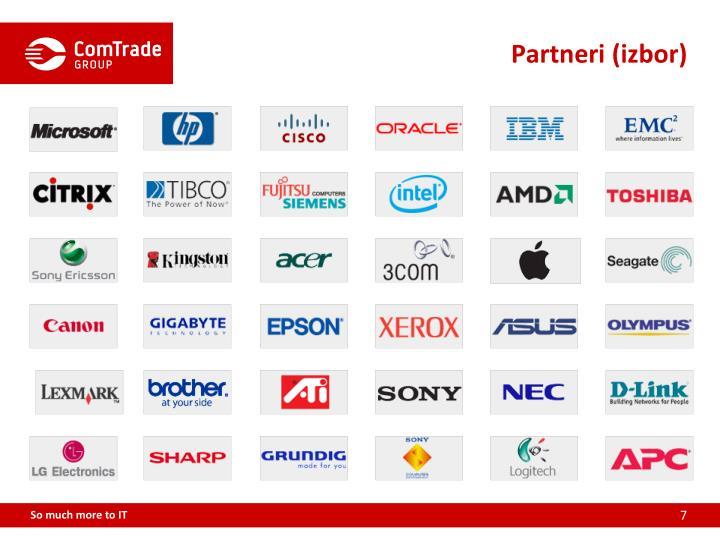 Partneri (izbor)