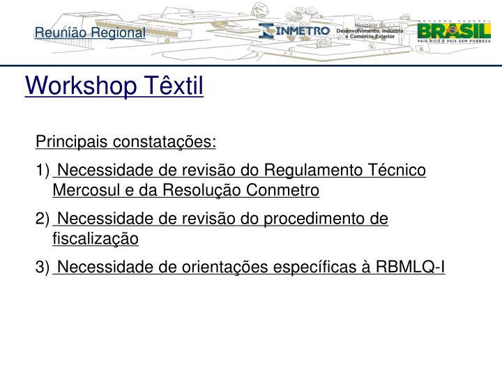 Workshop Têxtil