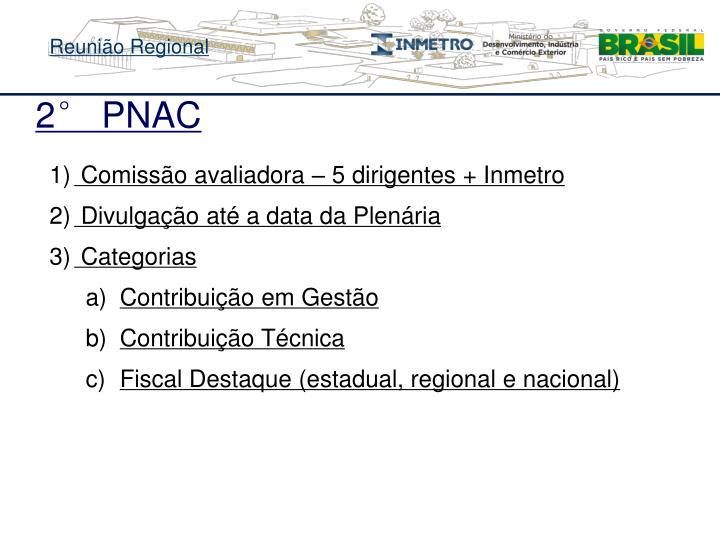 2° PNAC