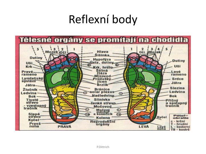 Reflexní body