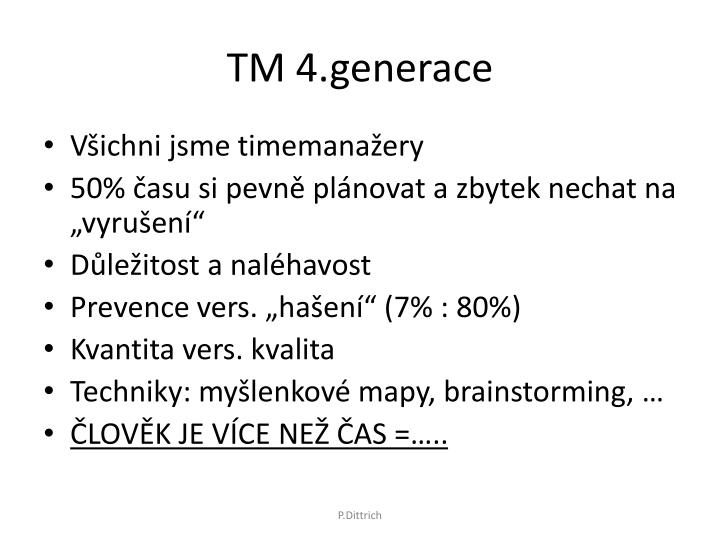 TM 4.generace