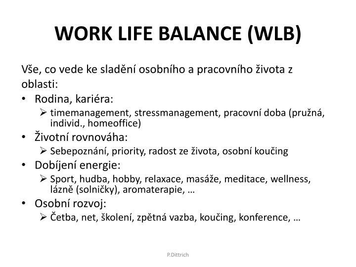 WORK LIFE BALANCE (WLB)