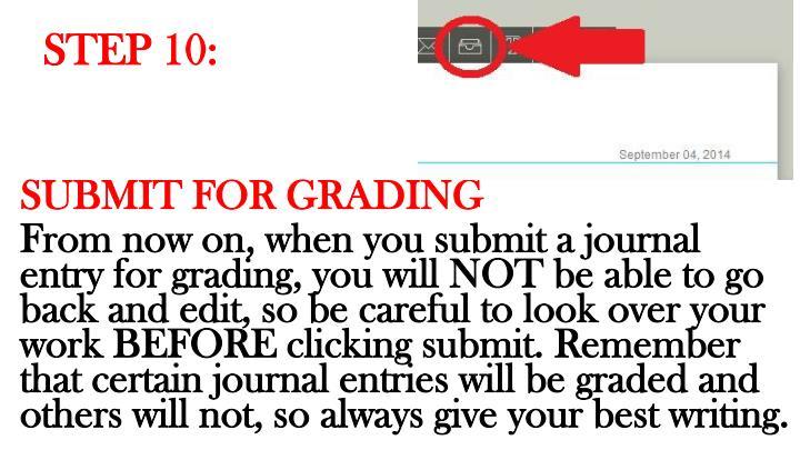 STEP 10: