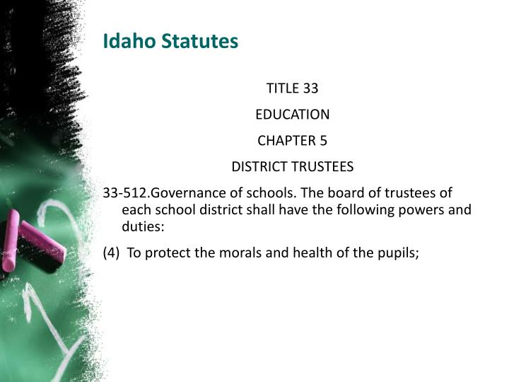 Idaho Statutes