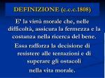definizione c c c 1808