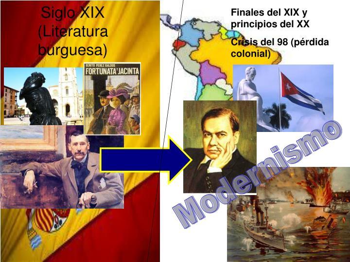 Finales del XIX y principios del XX
