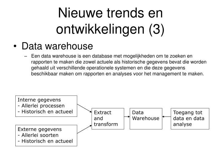 Interne gegevens