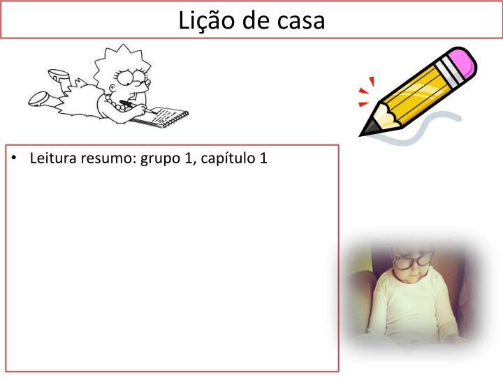 Lição de casa