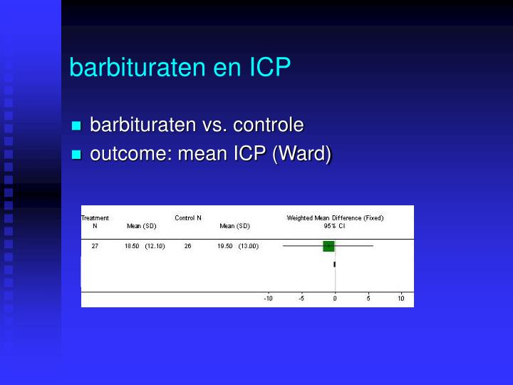 barbituraten en ICP