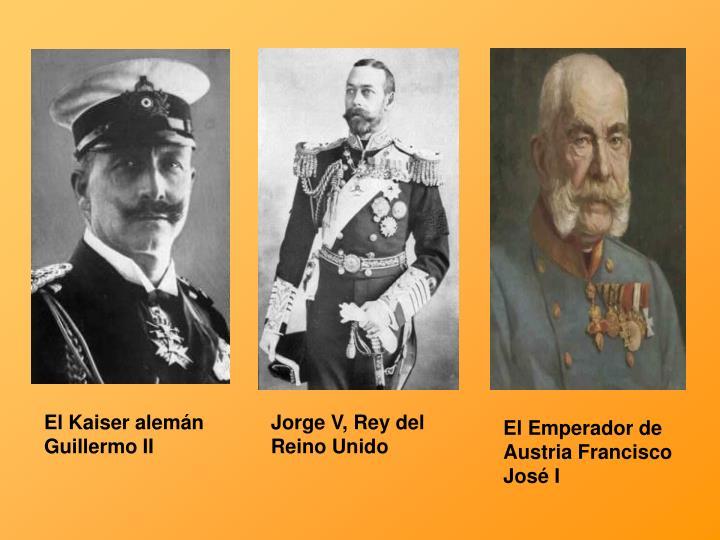 El Kaiser alemán Guillermo II