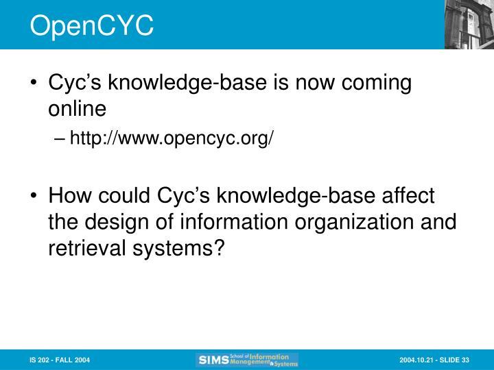 OpenCYC
