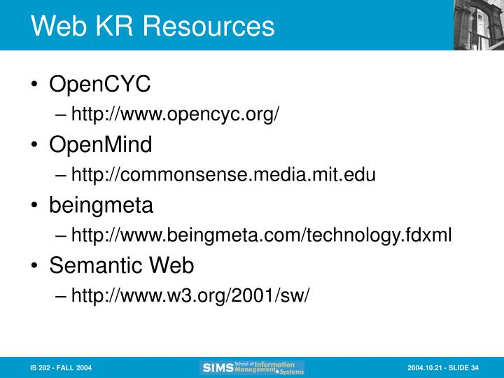 Web KR Resources