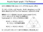 acyclic hyper graph full reducer