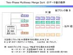 two phase multiway merge sort1