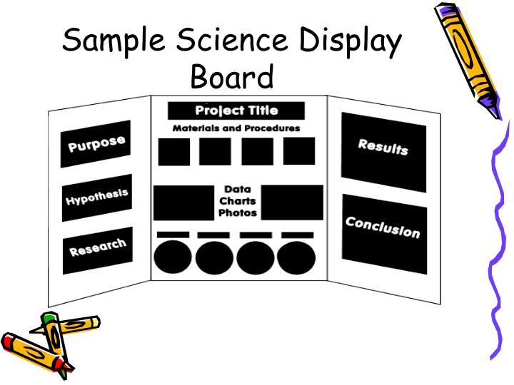 Sample Science Display Board