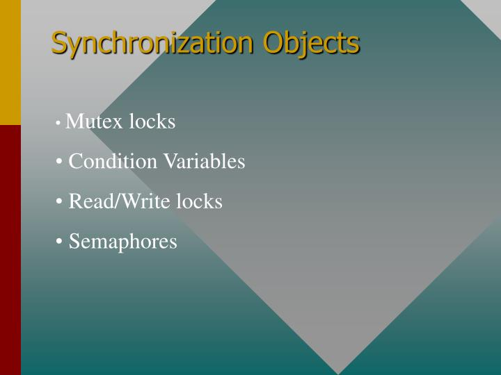 Synchronization Objects