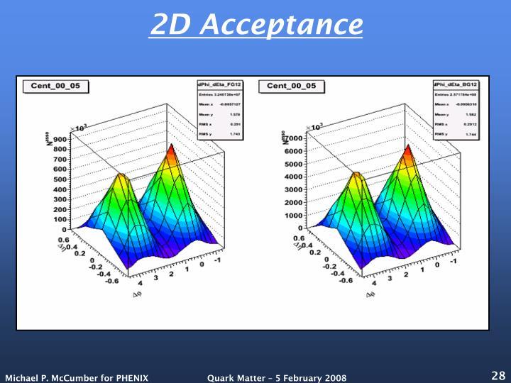 2D Acceptance