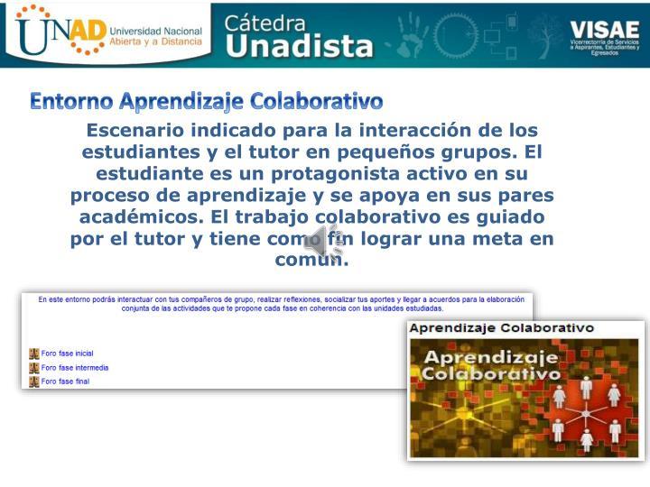 Entorno Aprendizaje Colaborativo