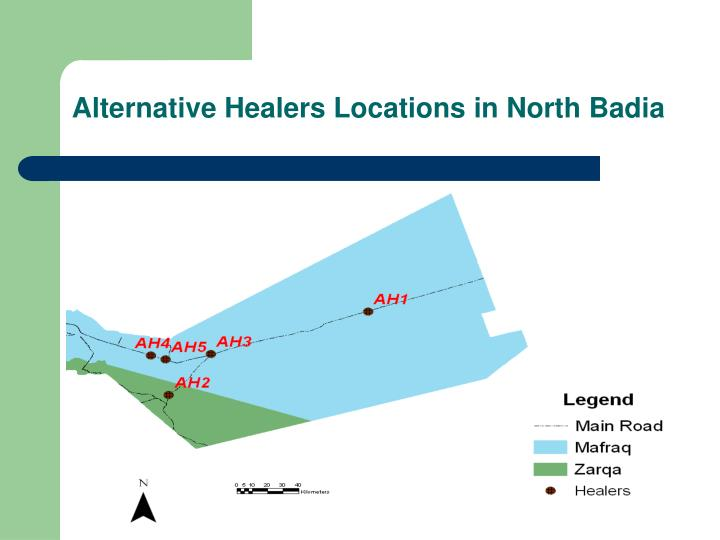Alternative Healers Locations in North Badia