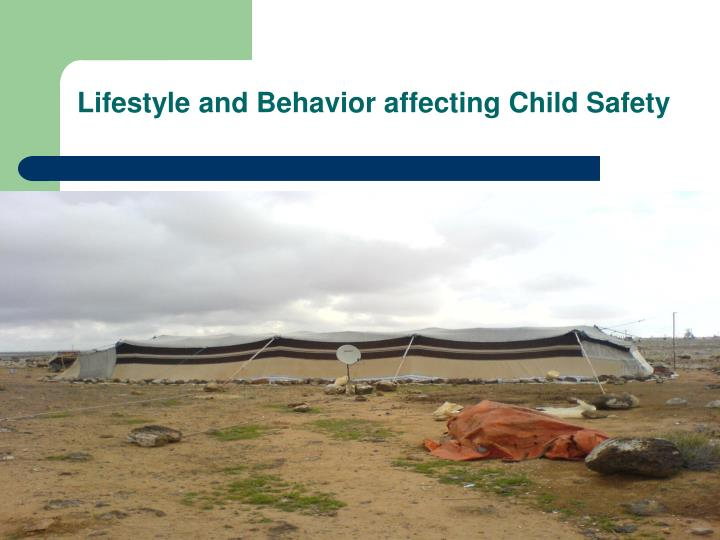 Lifestyle and Behavior affecting Child Safety