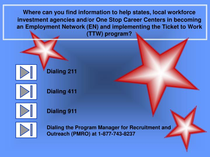Where can you find information to help states, local workforce investment agencies and/or One Stop C...