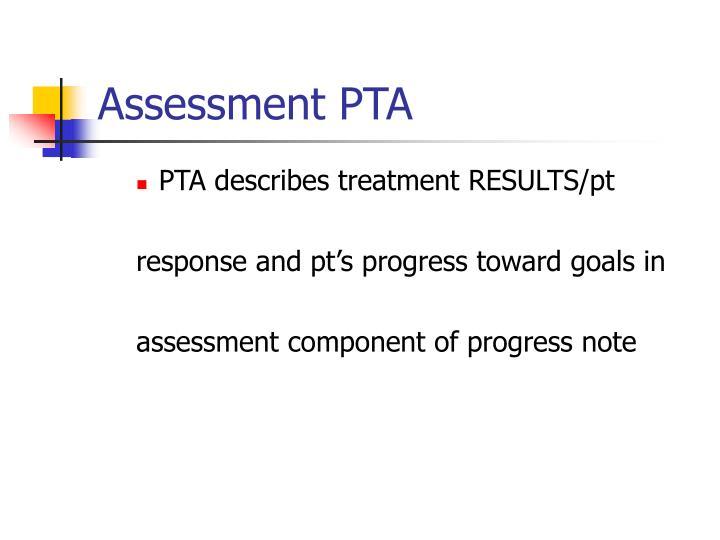 Assessment PTA