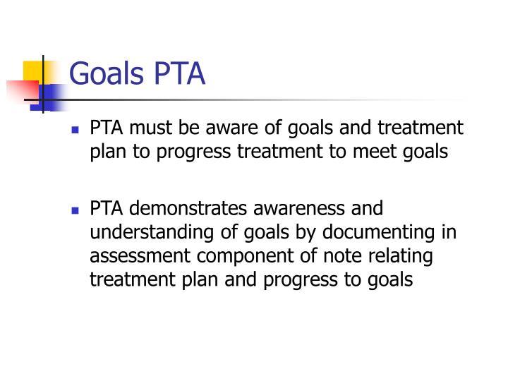 Goals PTA