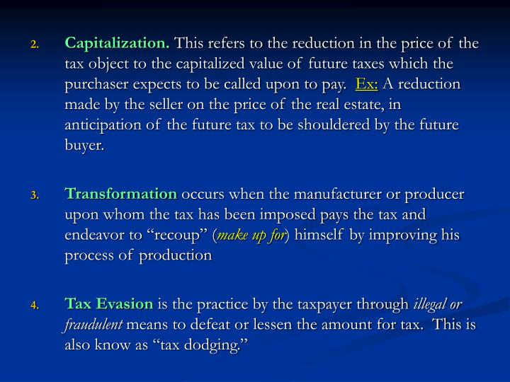Capitalization.