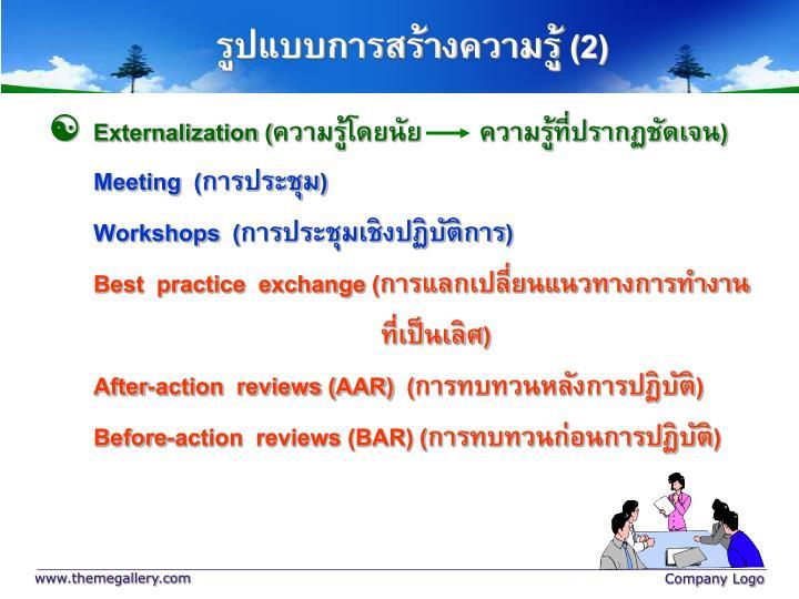 Externalization (