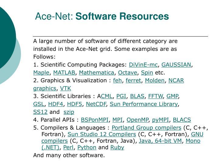 Ace-Net: