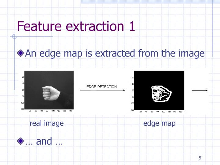 Feature extraction 1